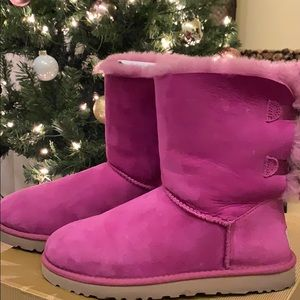 UGG boots (pink)